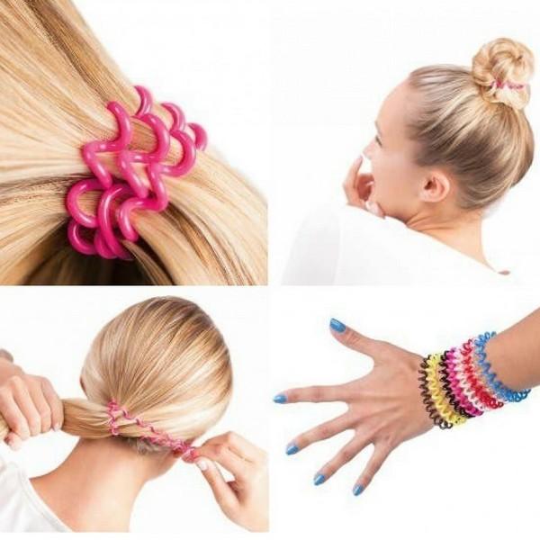 Как сделать своими руками резинку для волос картинки